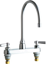 Chicago Faucets (1100-GN8AE3-369AB) Hot and Cold Water Sink Faucet