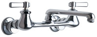 Chicago Faucets (540-LDE1ABCP)  Hot and Cold Water Sink Faucet