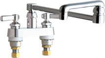 Chicago Faucets (891-DJ18ABCP)  Hot and Cold Water Sink Faucet