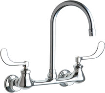 Chicago Faucets (631-GN2AE35ABCP)  Hot and Cold Water Sink Faucet