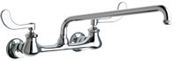 Chicago Faucets (631-L15ABCP)  Hot and Cold Water Sink Faucet