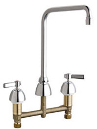 Chicago Faucets (201-RSHA8AE3VXKAB)  Concealed Hot and Cold Water Sink Faucet