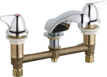 Chicago Faucets (404-V1000E66ABCP) Concealed Hot and Cold Water Sink Faucet