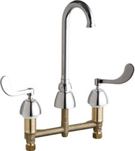 Chicago Faucets (786-GN1FCABCP)  Concealed Hot and Cold Water Sink Faucet