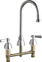 Chicago Faucets (786-369ABCP)  Concealed Hot and Cold Water Sink Faucet