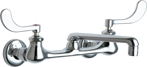 Chicago Faucets (540-LDE35-317WXFAB)  Hot and Cold Water Sink Faucet