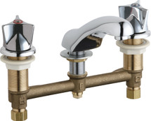 Chicago Faucets (404-950ABCP)  Concealed Hot and Cold Water Sink Faucet