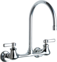 Chicago Faucets (540-LDGN8AE35ABCP)  Hot and Cold Water Sink Faucet