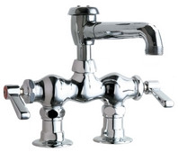 Chicago Faucets (772-L5VBCP)  Hot and Cold Water Sink Faucet