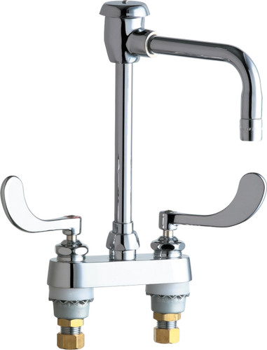 Chicago Faucets (895-317GN8BVBE3MAB)  Hot and Cold Water Sink Faucet