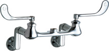Chicago Faucets (814-LES)  Hot and Cold Water Sink Faucet