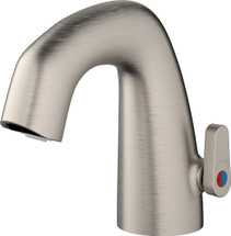 Chicago Faucets (EQ-A21B-KJKABBN)  EQ Curved Electronic Spout Assembly with User Temperature Adjustment Handle