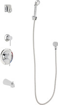 Chicago Faucets (SH-PB1-14-140)  Pressure Balancing Tub and Shower Valve with Shower Head