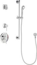Chicago Faucets (SH-PB1-14-011)  Pressure Balancing Tub and Shower Valve with Shower Head
