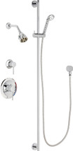 Chicago Faucets (SH-PB1-11-042)  Pressure Balancing Tub and Shower Valve with Shower Head
