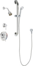 Chicago Faucets (SH-PB1-11-023) Pressure Balancing Tub and Shower Valve with Shower Head
