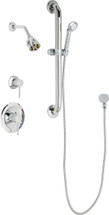 Chicago Faucets (SH-PB1-11-043)  Pressure Balancing Tub and Shower Valve with Shower Head