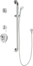 Chicago Faucets (SH-PB1-15-024)  Pressure Balancing Tub and Shower Valve with Shower Head