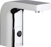 Chicago Faucets (116.868.AB.1) HyTronic Edge Lavatory Sink Faucet with Dual Beam Infrared Sensor