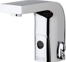 Chicago Faucets (116.870.AB.1)  HyTronic Edge Lavatory Sink Faucet with Dual Beam Infrared Sensor