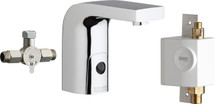 Chicago Faucets (116.968.AB.1)  HyTronic Edge Lavatory Sink Faucet with Dual Beam Infrared Sensor