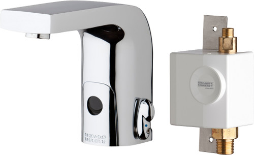 Chicago Faucets (116.948.AB.1)  HyTronic Edge Lavatory Sink Faucet with Dual Beam Infrared Sensor