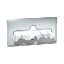 ASI (10-0259-SS) Facial Tissue Dispenser, Satin Finish - Recessed
