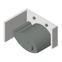 ASI (10-0795) Mop Holder (Single) - Surface Mounted