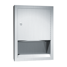 ASI (10-0457-2) Paper Towel Dispenser - Semi-Recessed