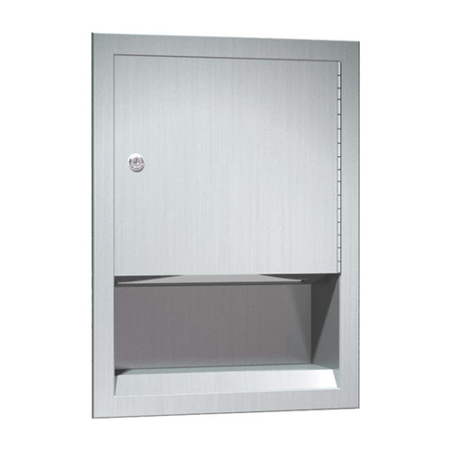 ASI (10-0457) Paper Towel Dispenser (Multi, C-Fold) - Recessed