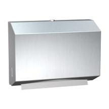 ASI (10-0215) Paper Towel Dispenser, Petite (Multi, C-Fold) -Surface Mounted