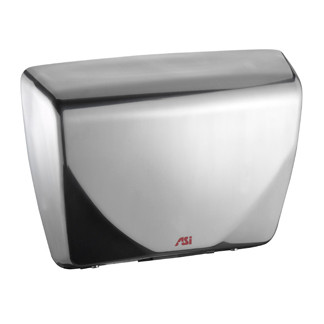 ASI (10-0185-93) Roval Steel Cover Hand Dryer - Satin Stainless Steel