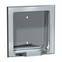 ASI (10-7404-SD) Soap Dish - Recessed, Satin, For Dry Wall Installation (Requires Clamp Model #10-39, Sold Separately)