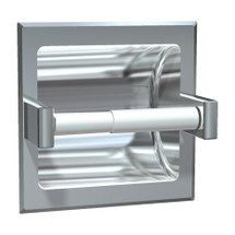 ASI (10-7402-BD) Toilet Paper Holder (Single), Recessed, Bright, For Dry Wall Installation
