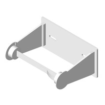 ASI (10-0710) Toilet Paper Holder (Single) - Surface Mounted