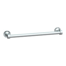 "ASI (10-0755-SS18) Towel Bar (Heavy-Duty) 18"", Surface Mounted, Stainless Steel"