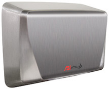 ASI (10-0199-2-92) TURBO ADA - SURFACE MOUNTED HIGH-SPEED DRYER (208-240V) - ADA COMPLIANT - NEW SS Bright