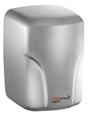 ASI (10-0197-1-92) TURBO-Dri High Speed Hand Dryer (110-120V) Bright Stainless Steel