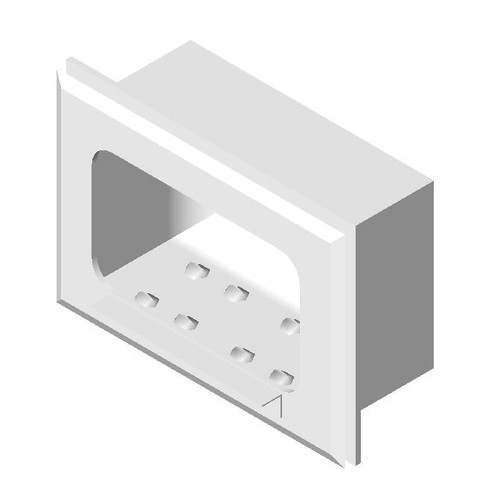 ASI (10-0400) Soap Dish, Recessed, Wet Wall Installation, Stainless Steel
