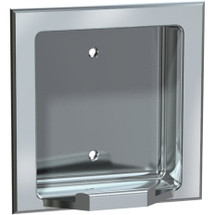 ASI (10-7404-SW) Soap Dish - Recessed, Satin, For Wet Wall Installation (Requires Clamp Model #39)