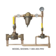 Symmons (7-1000-200-PRV) TempControl Hi-Low Thermostatic Mixing Valve and Piping System