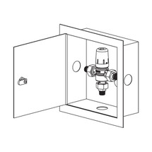Symmons (7-225B-CK-MS) Maxline Thermostatic Water Temperature Limiting Device
