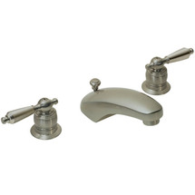 Symmons ( S-244-1-LAM-1.5-STN) Origins Two Handle Widespread Lavatory Faucet