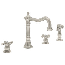 Symmons (S-2650-2-STN) Carrington Two Handle Kitchen Faucet