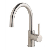 Symmons (SPB-3510-STN-1.5) Dia Single Handle Bar Sink Faucet