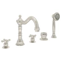 Symmons (SRT-4472-STN) Carrington Two Handle Roman Tub Faucet