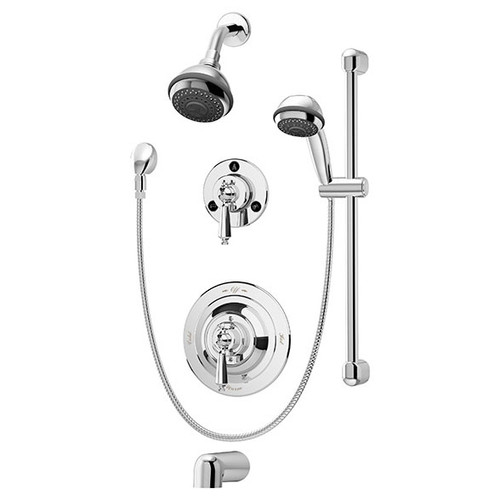 Symmons (1-7520-X) Water Dance Tub/Shower/Hand Shower System