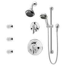 Symmons (1-7460-X) Water Dance Shower/Hand Shower System