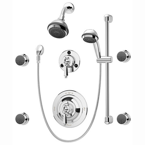 Symmons (1-7470-X) Water Dance Shower/Hand Shower System