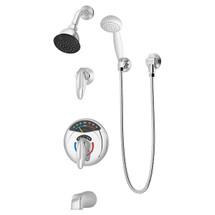 Symmons (1-317VT-FS) Visu-Temp Tub/Shower/Hand Shower System